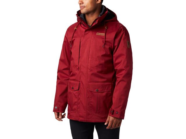Columbia Horizons Pine Interchange Jacket Herren red jasper